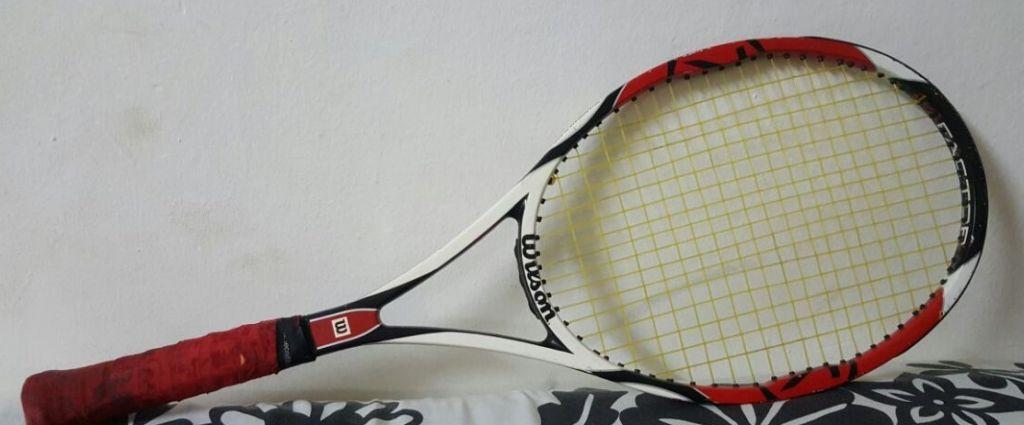 raquettes et housse raquette wilson K factor