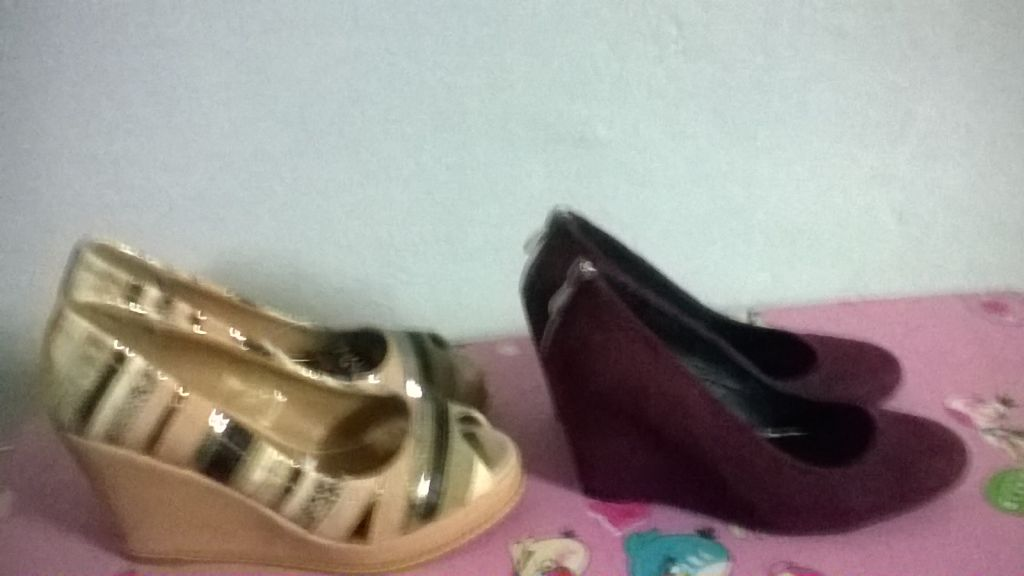 Chaussures compensés