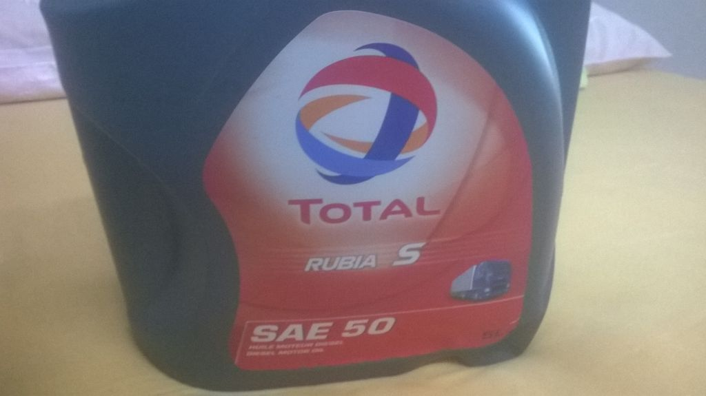 Huile moteur total diesel 5l