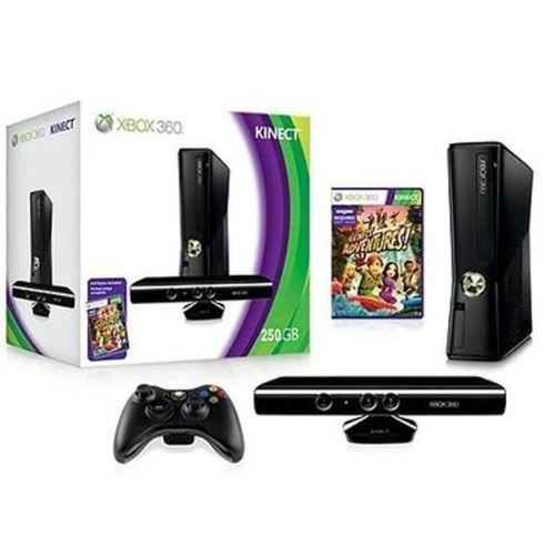 Console Xbox et kinect 360