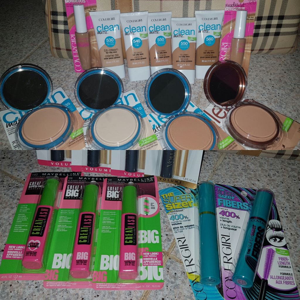 Maquillage de marque CoverGirl & Mascara