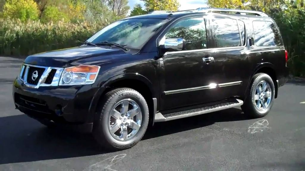 NISSAN ARMADA BLACK COLOR VIP CAR
