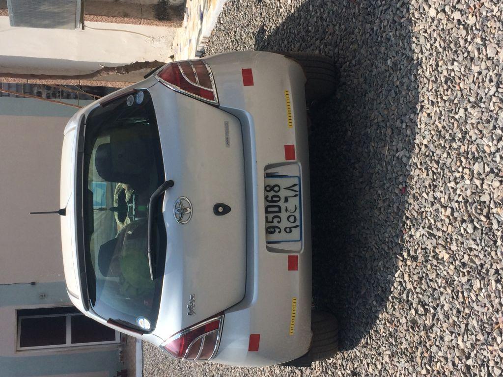 Toyota Vitz model Yaris