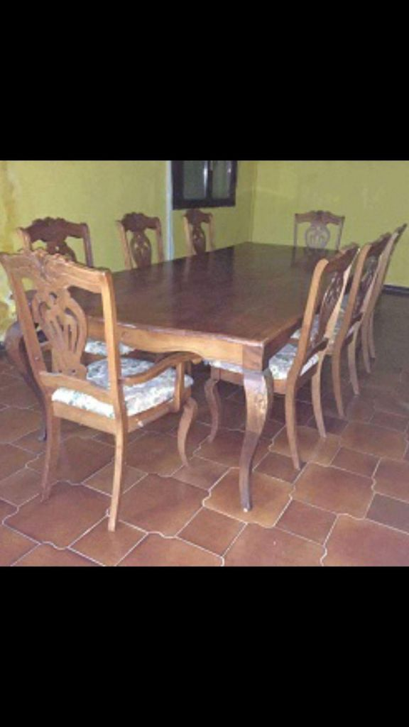 Table pour 12 personnes pour un grand salon djibouti - Table pour 12 personnes ...