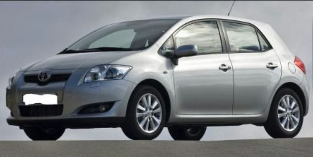 toyota auris model 2008 a vendre djibouti. Black Bedroom Furniture Sets. Home Design Ideas