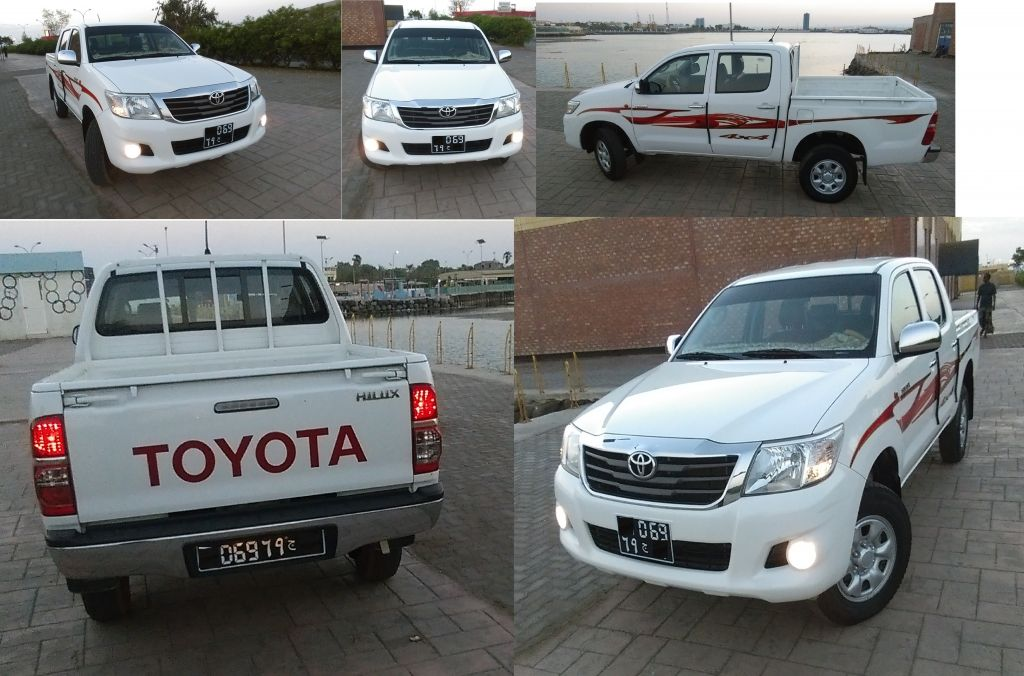 toyota hilux 2015 turbo diesel djibouti. Black Bedroom Furniture Sets. Home Design Ideas