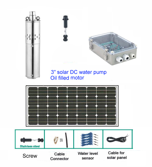 Moto pompe solaire