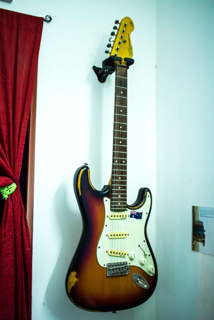 Interieur Sport Wilkinson Of Guitare Electrique Avec Ampli Djibouti