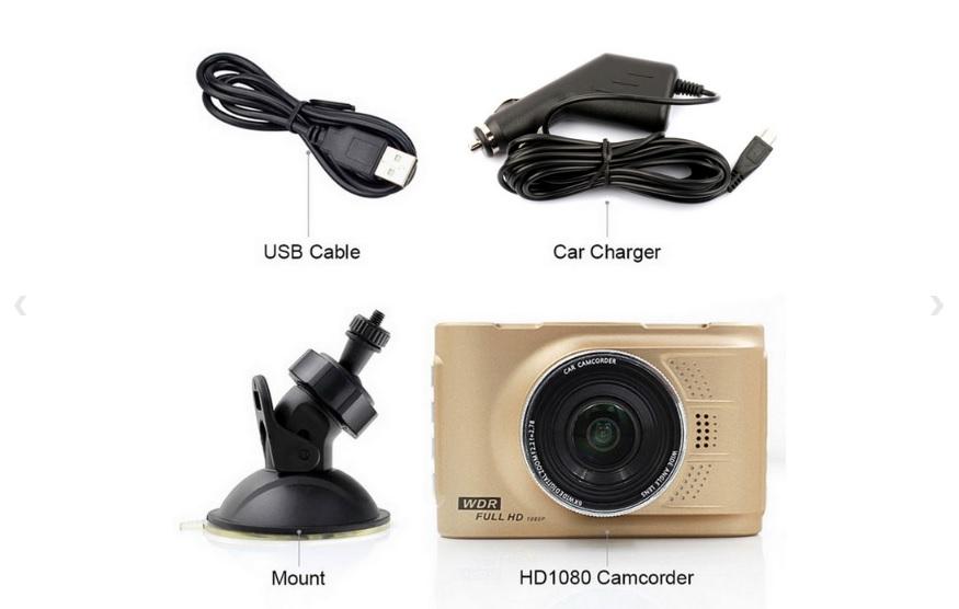 DVR 5.0MP Dash Cam Camcorder
