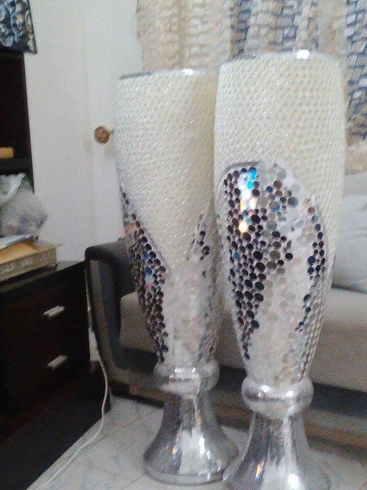 2 vase bon etat