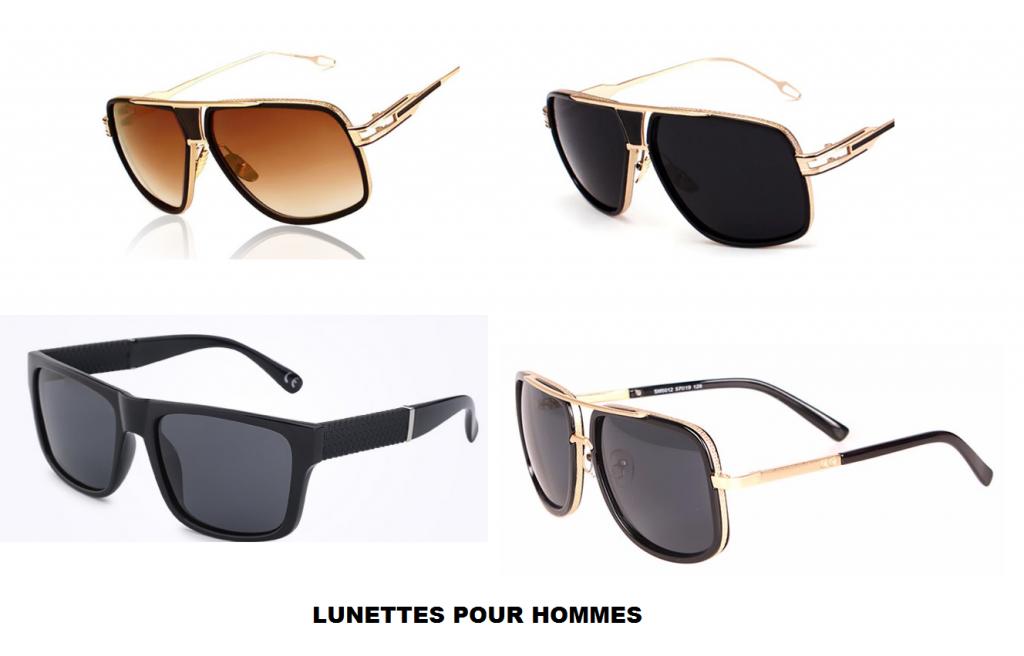 lunettes pour hommes