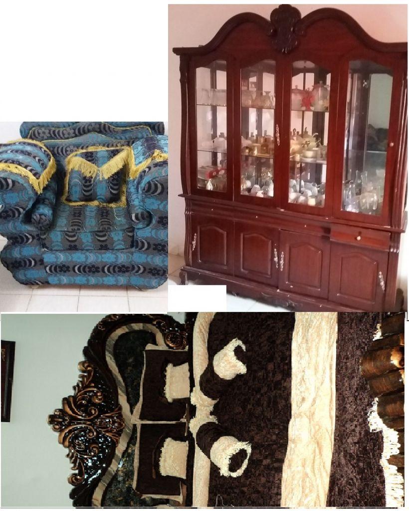 meubles complets et ses accessoires en tr s bon tat djibouti. Black Bedroom Furniture Sets. Home Design Ideas