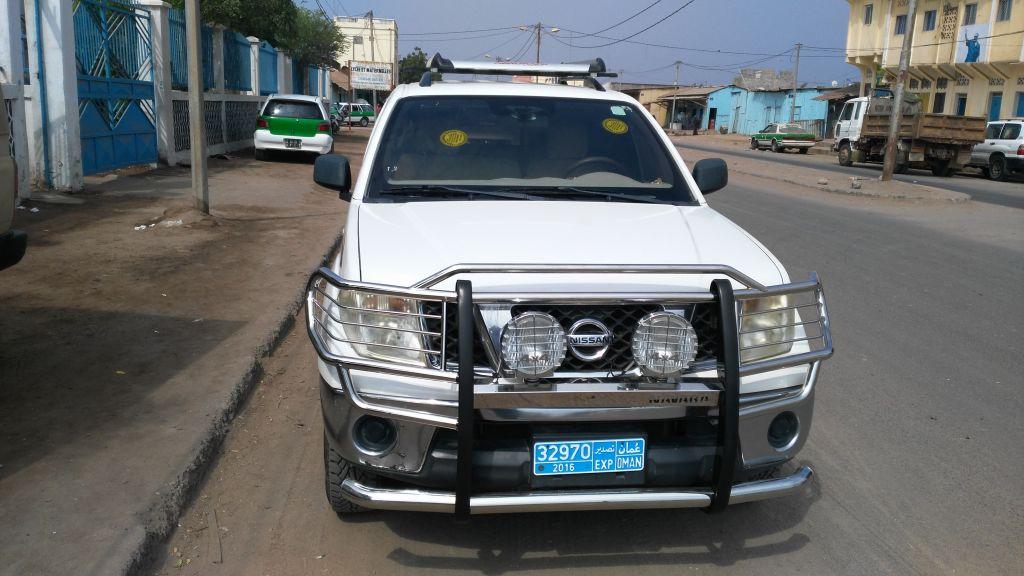 Vehicule PICK UP NISSAN NAVARA