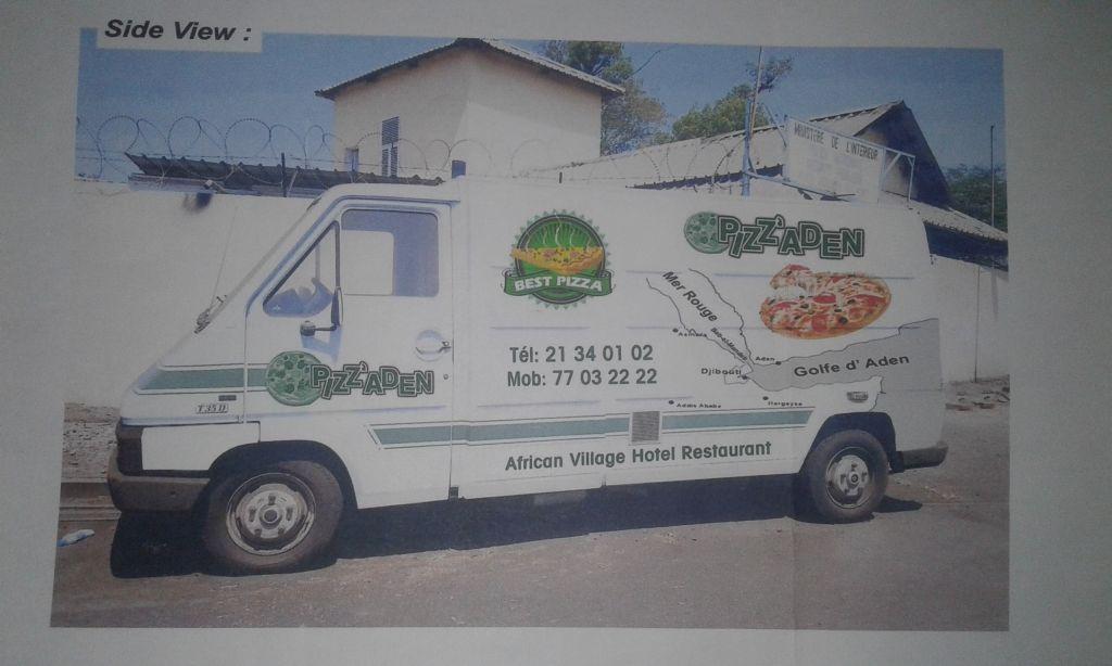 Camion Pizza tout équipé