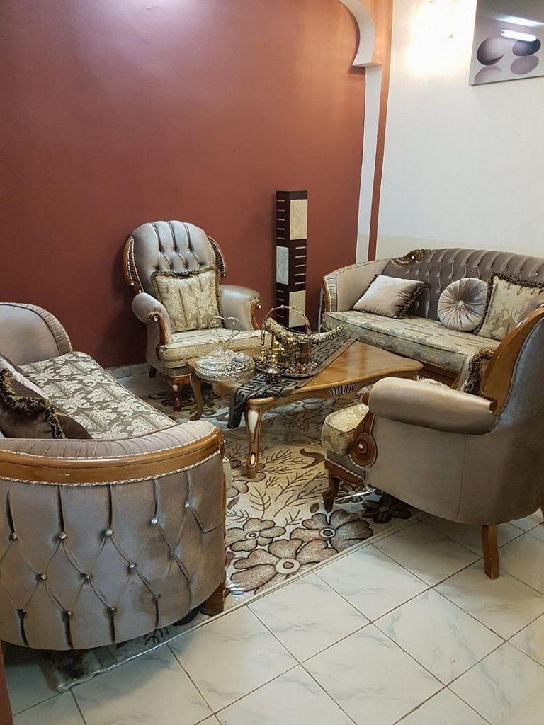 beau salon d 39 interieur djibouti. Black Bedroom Furniture Sets. Home Design Ideas