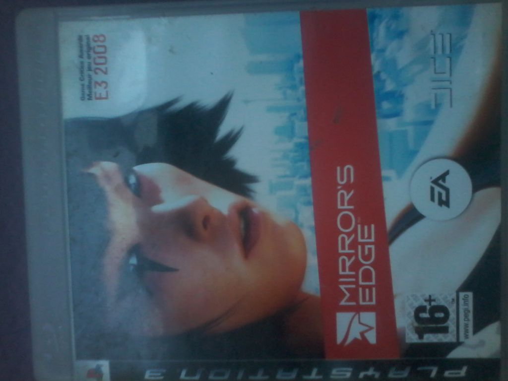 cede de ps3 (MIRRORS EDGE)
