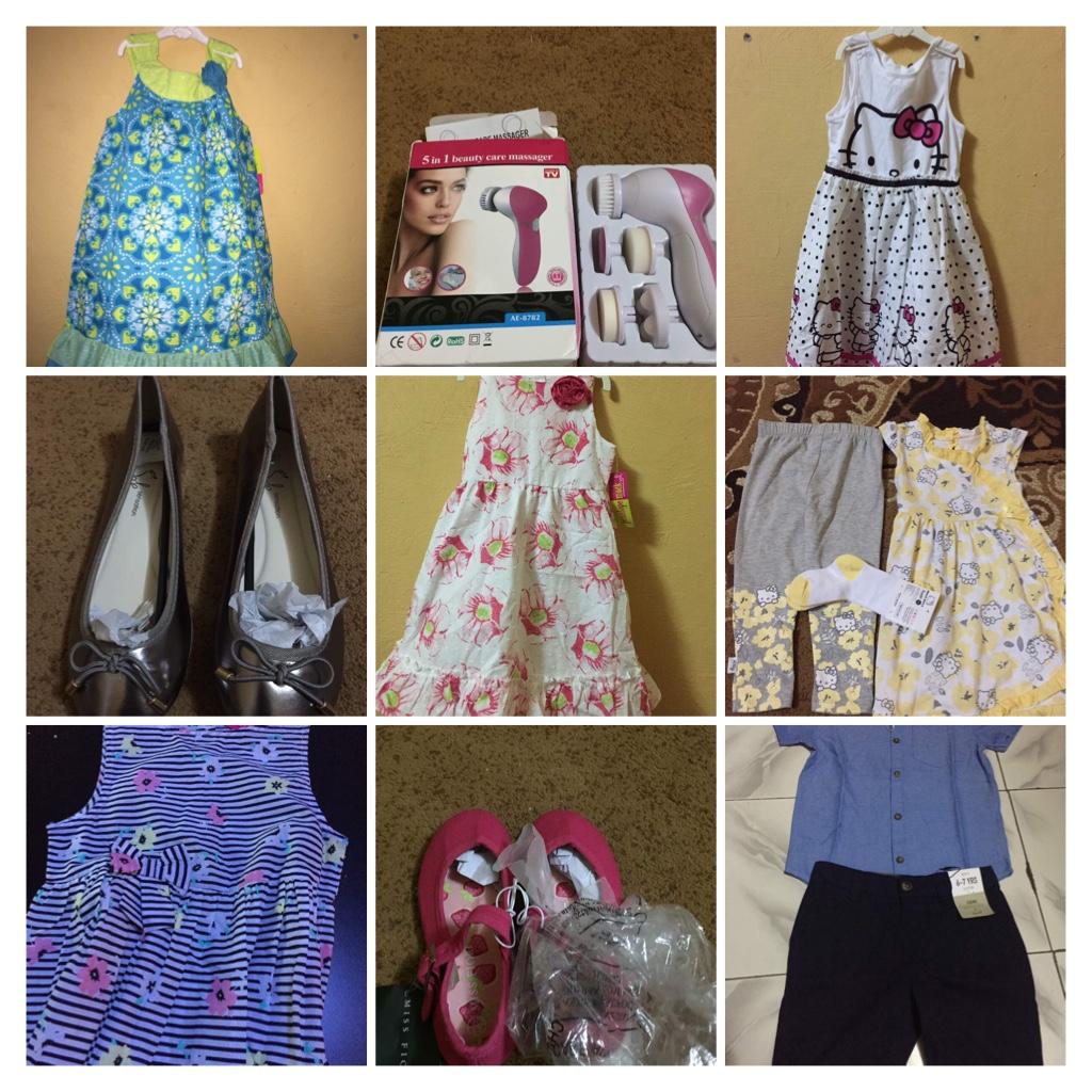Les habits des enfants et accessoires