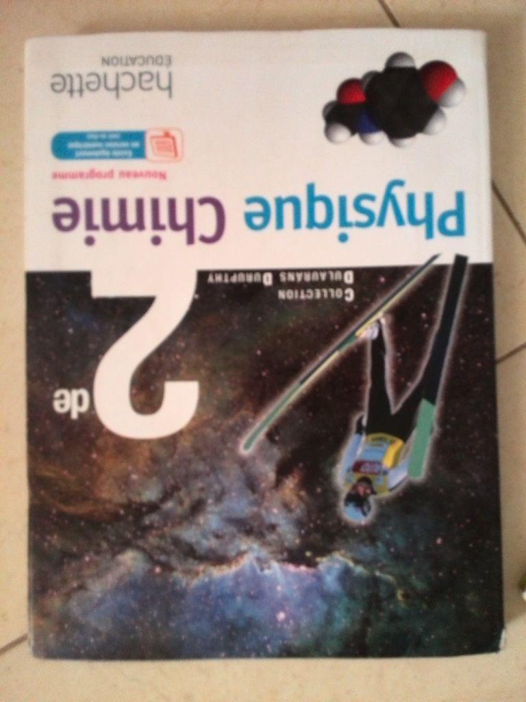 manuel scolaire physique chimie seconde