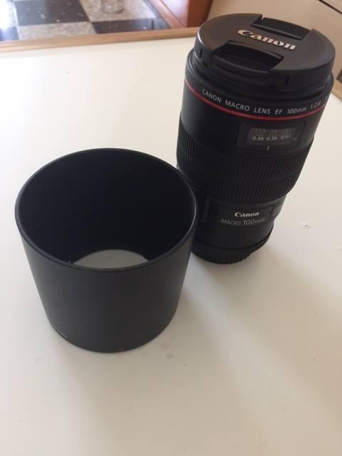 Objectif Canon 100mm Macro