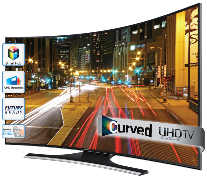 "Smart Tv Samsung 55"" incurvé (curved)"