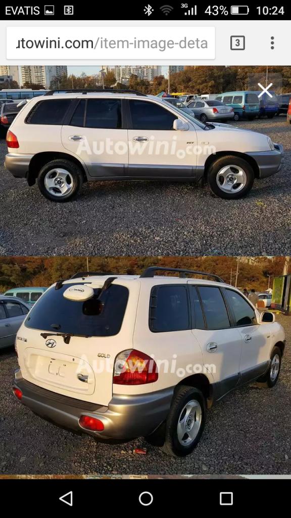 Santa Fe model 2003