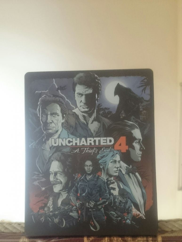 uncharted 4 sur ps4 avec édition limitée