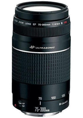 Canon EF 75-300mm f4-5.6 III USM