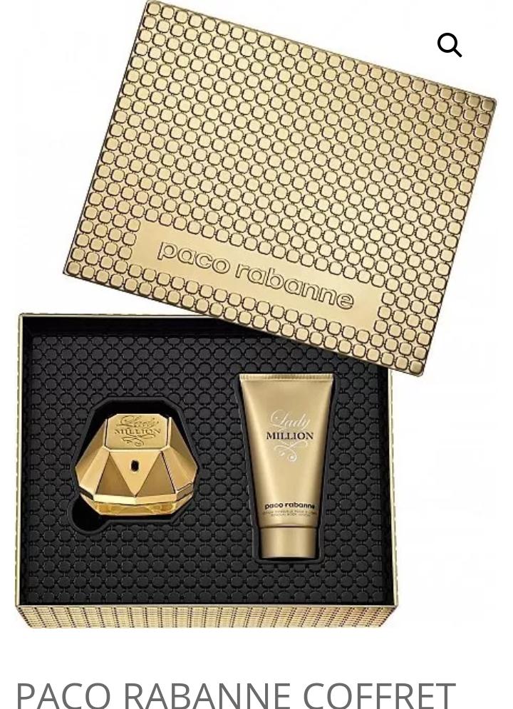 Coffret Parfum Lady Million Paco Rabanne
