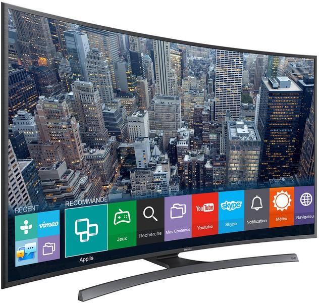 Samsung Smart Tv 55 pouces incurvé