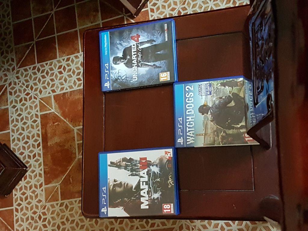 Vente jeux PS4