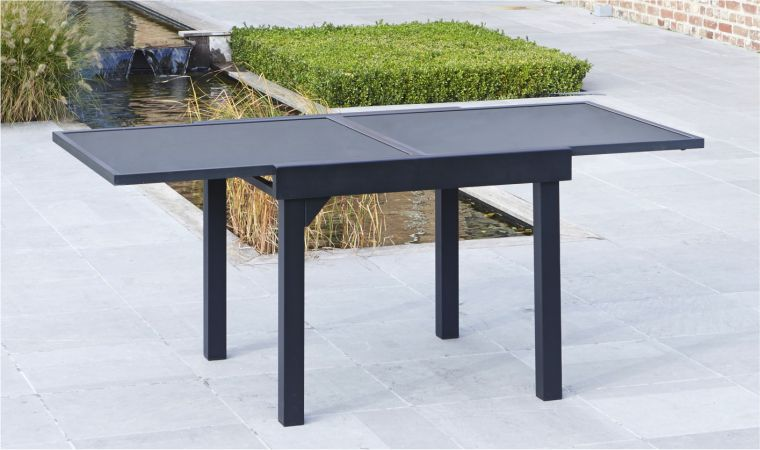 Stunning grande table de jardin avec rallonge photos for Table carree avec rallonge