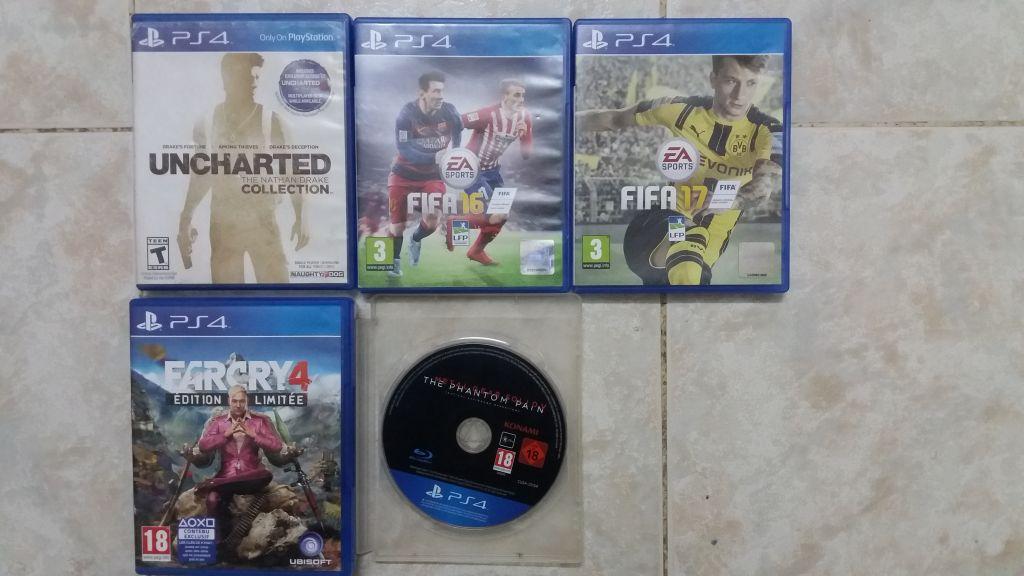 5 Jeux PS4 AV