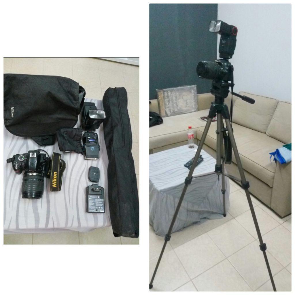 Appareil photo Nikon 18/105mm