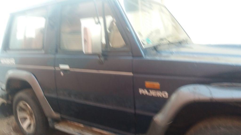 Mitsubishi pajero chassie court