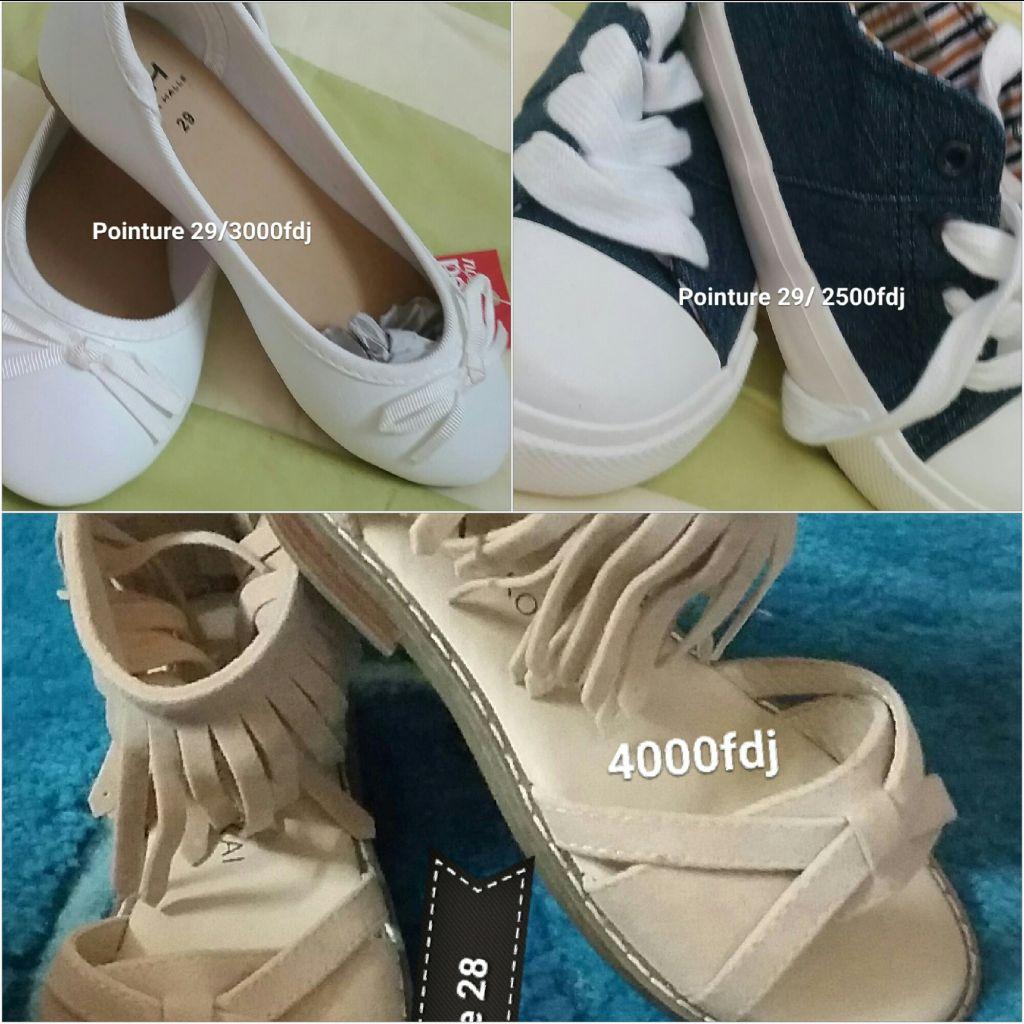 Chaussures enfant fille