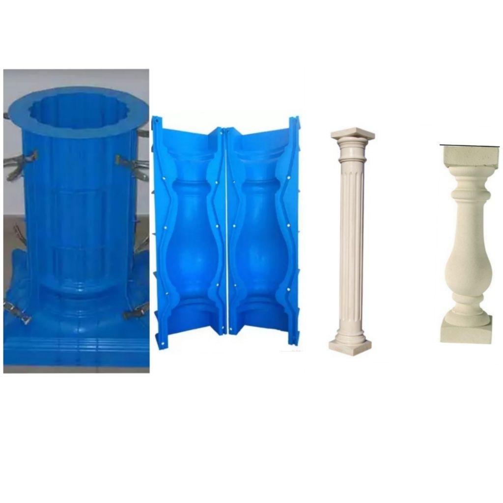 Moules pour colonnes romaines et balutres