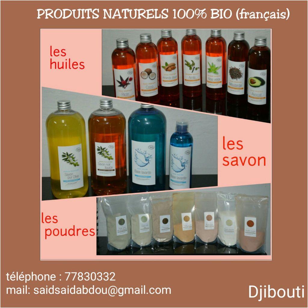 Produits bio 100% naturels