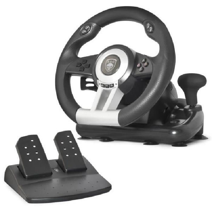 Spirit Of Gamer Pack volant + pédalier pour PlayStation® 3, PlayStation 2 et PC