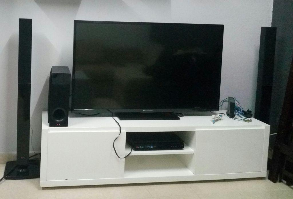 TV, meubles, home cinéma