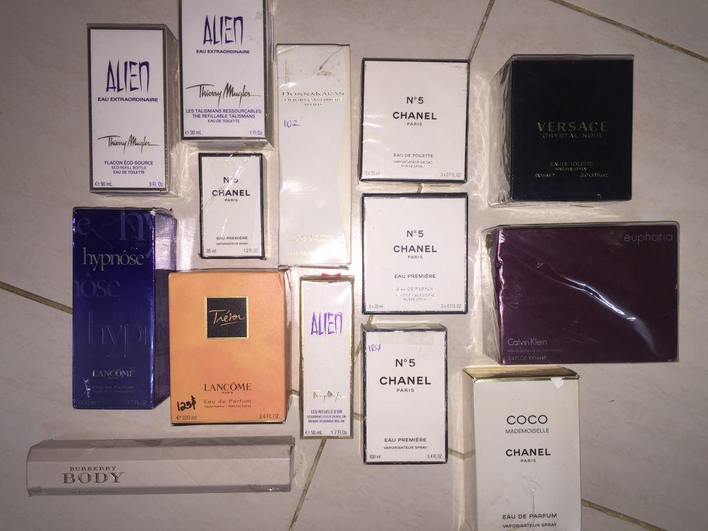Parfums de marque (femme)
