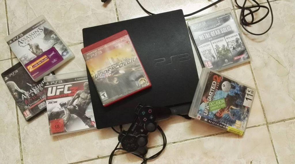 PS3 avec des jeux très passionnants prix a débattre