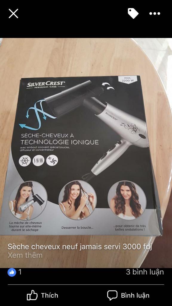 Sèche cheveux à vendre acheter en France