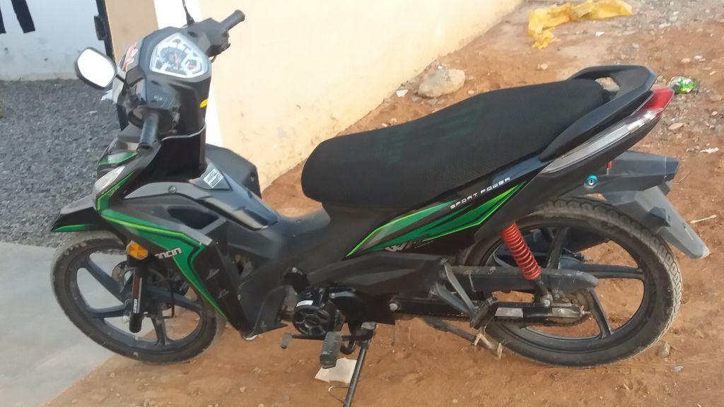 Moto model loncin 125