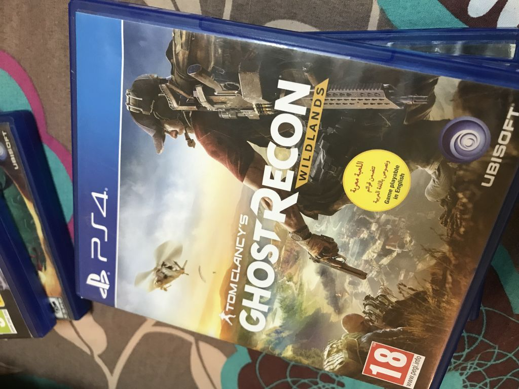 Tom clancy's Ghost Recon (ps4)