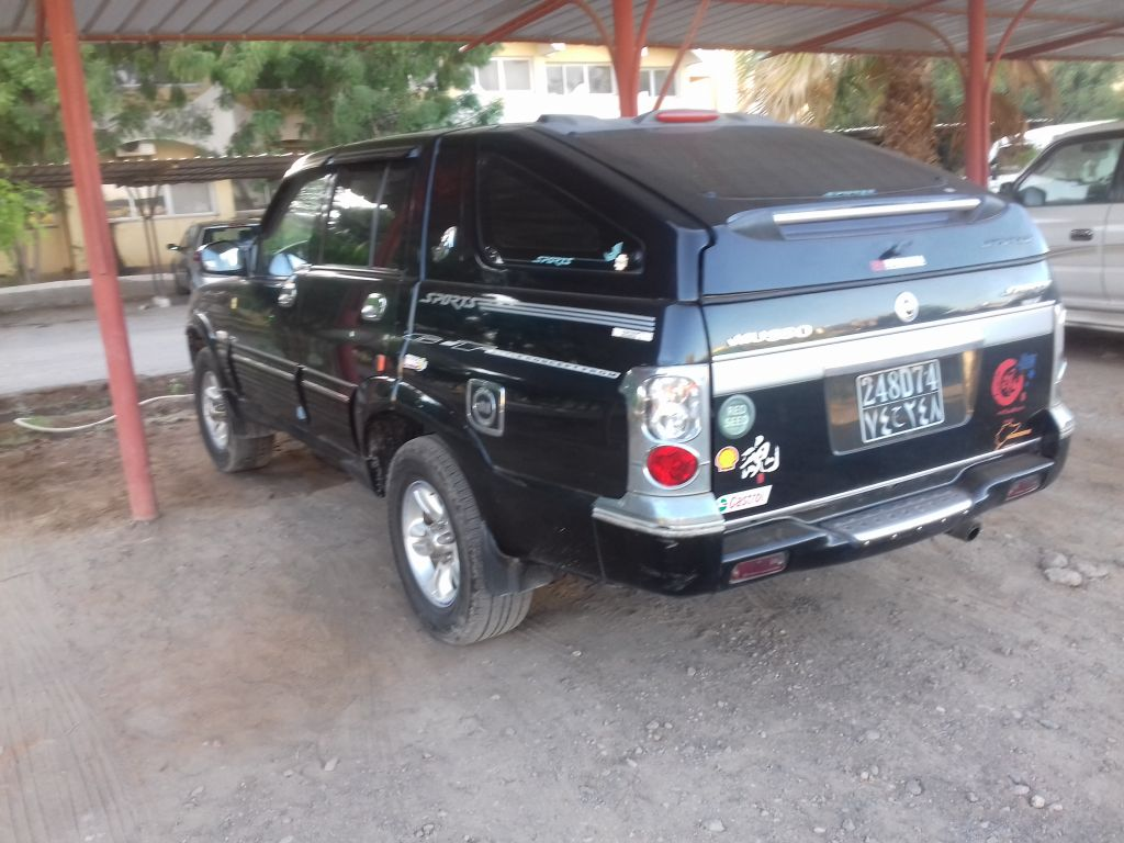 Ssagyong Musso Sport Pick-up à Djibouti