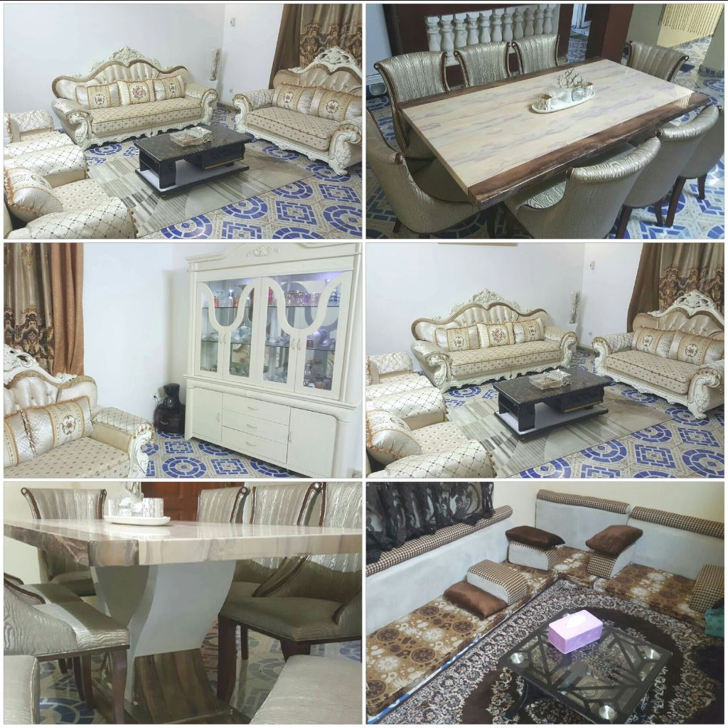 vends salon qaci et table manger djibouti. Black Bedroom Furniture Sets. Home Design Ideas